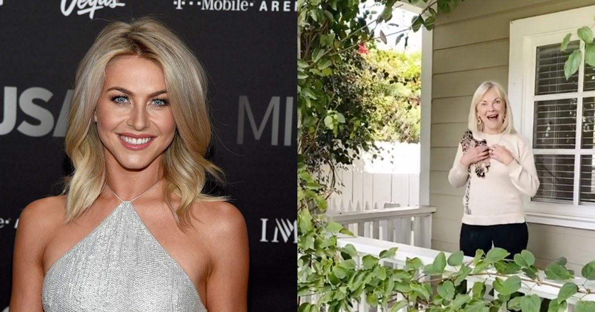 Watch Julianne Hough surprise her mom with a new house