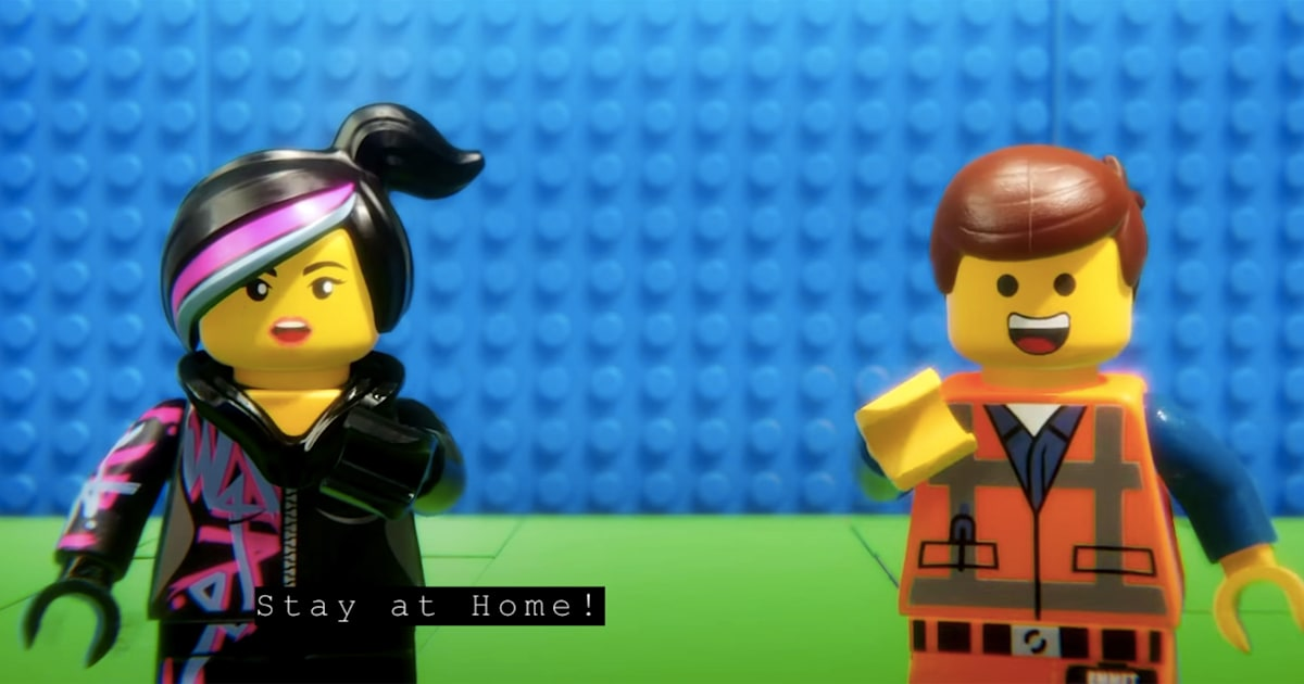 The 'Lego Movie' has a new song on how to protect yourself from coronavirus