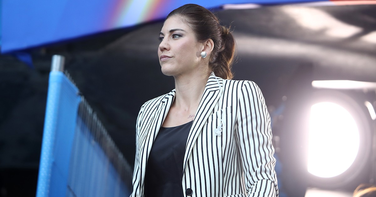 Hope Solo 'heartbroken' after her dog is shot in 'heinous act'