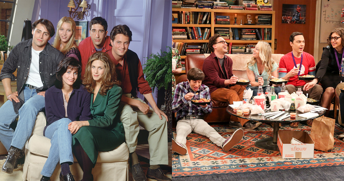 'Friends,' 'Big Bang Theory' and more: What to watch on HBO Max