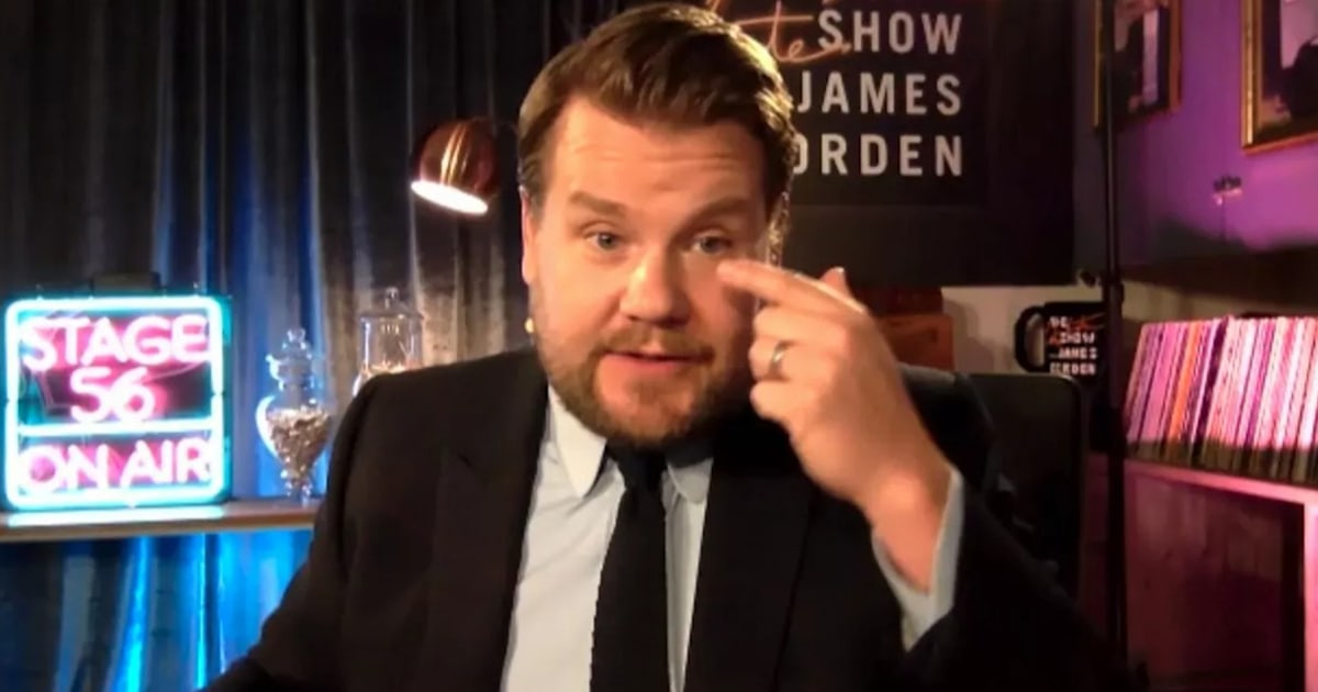 James Corden explains why he had to get immediate eye surgery