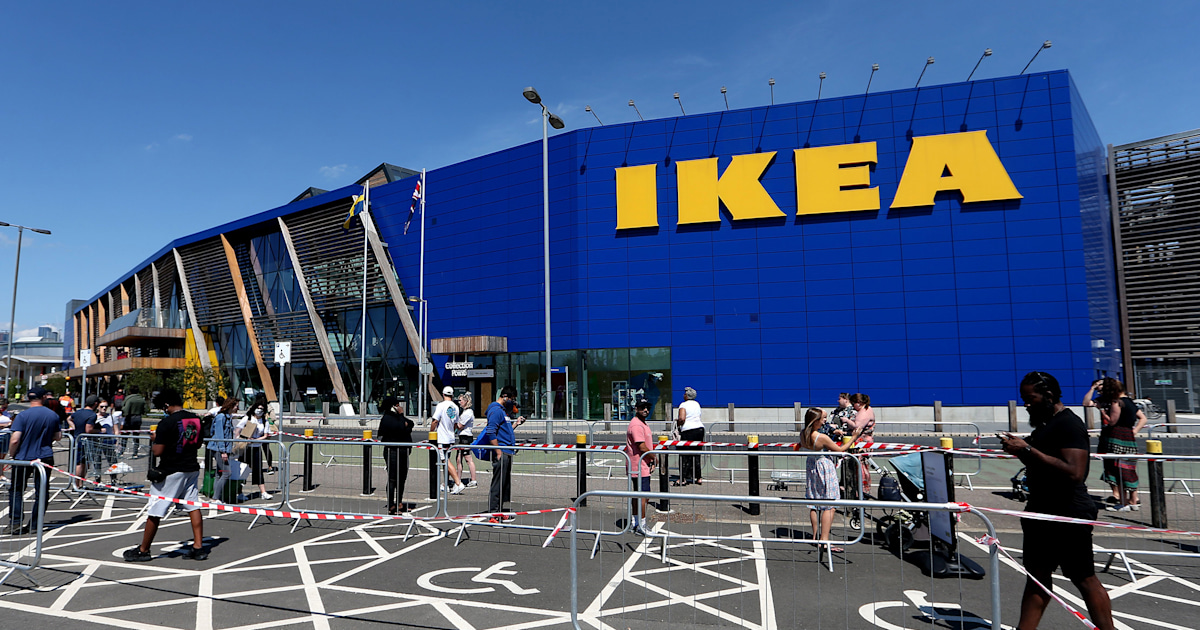 Ikea plans on reopening its U.S. stores soon, but shoppers should expect major lines
