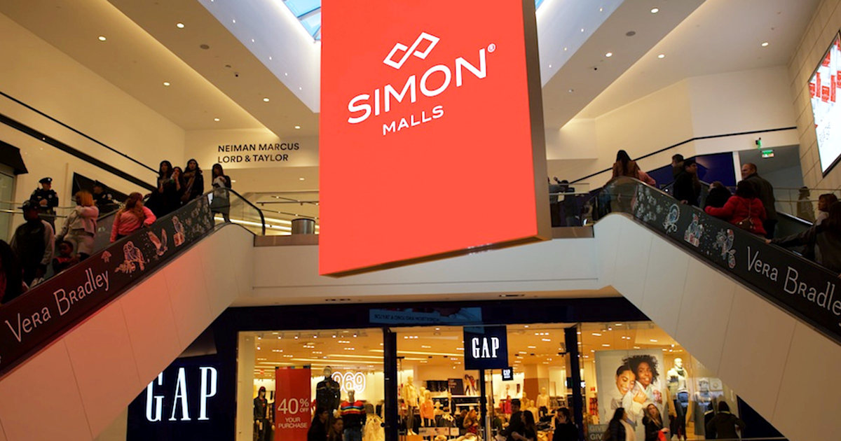 Simon Property, largest US mall operator, sues Gap over $65 million in skipped rent