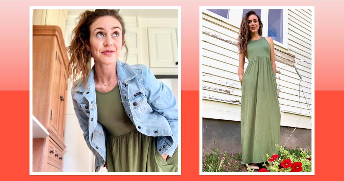 I finally tried this bestselling maxi dress and it's perfect for summer