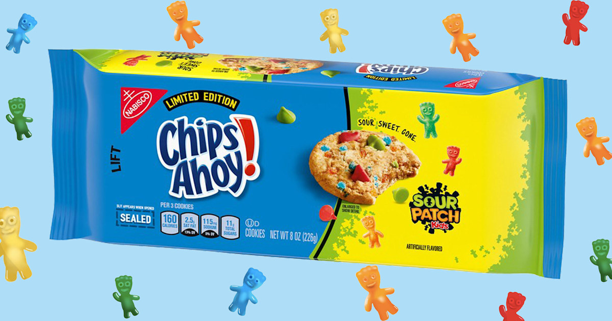 New Sour Patch Kids cookies are confusing a lot of people