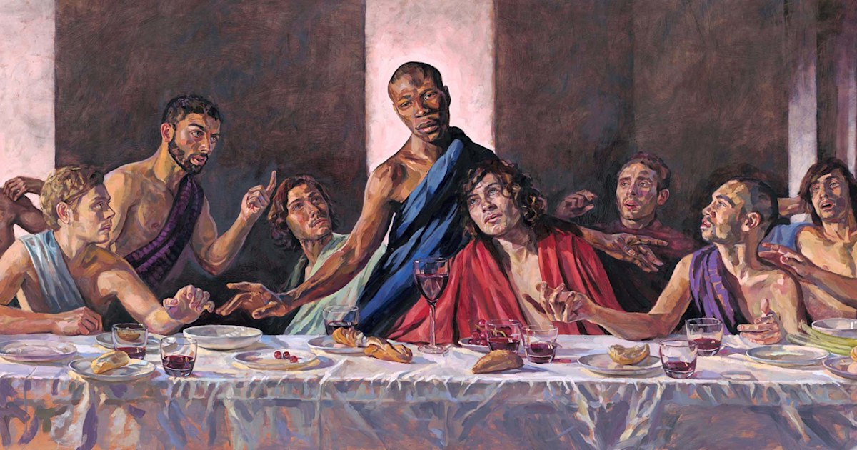 'Last Supper' painting with Black Jesus to be installed in historic cathedral