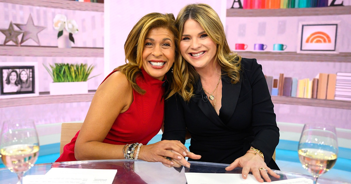 What Hoda and Jenna 'can't live without' right now
