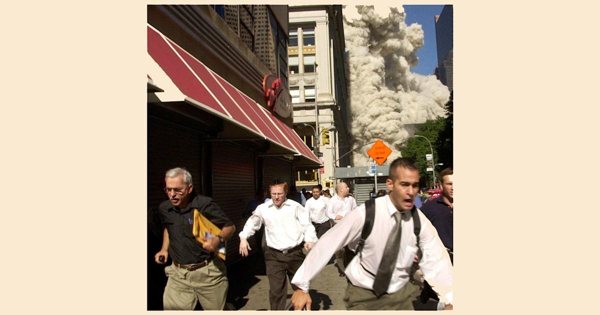 Man seen fleeing in famous 9/11 photo dies of coronavirus