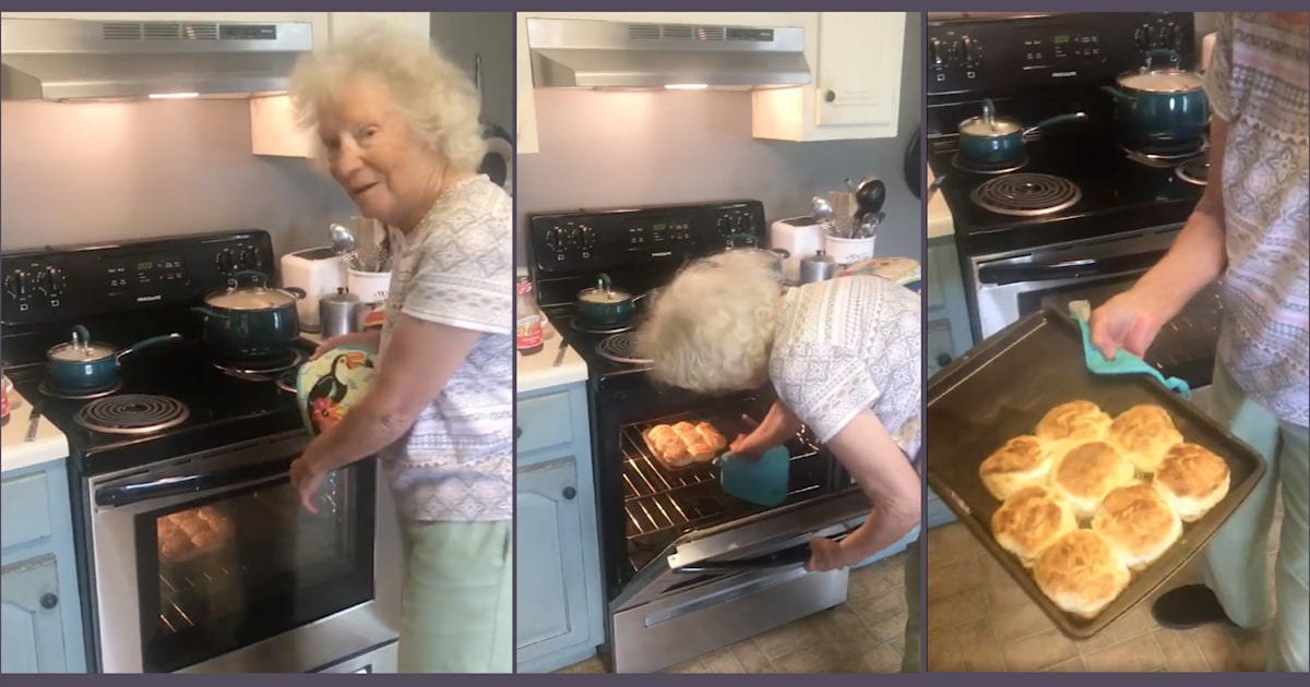 This Southern grandma's easy biscuit-making tutorial has gone viral