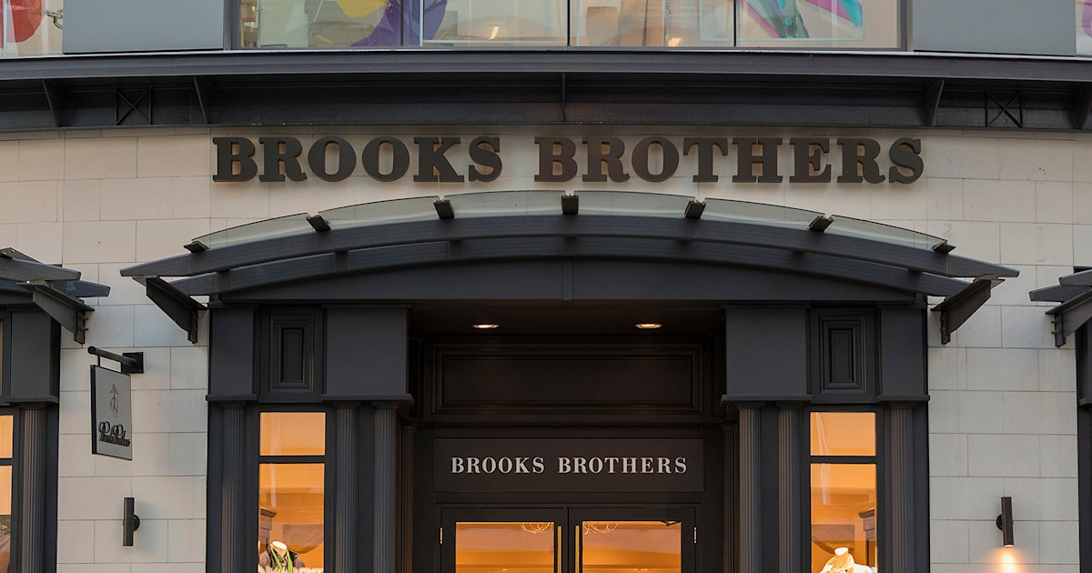Brooks Brothers — pioneer of the polo and uniform of the polished prepster — filed for bankruptcy on Wednesday, as it continues to search for a bu