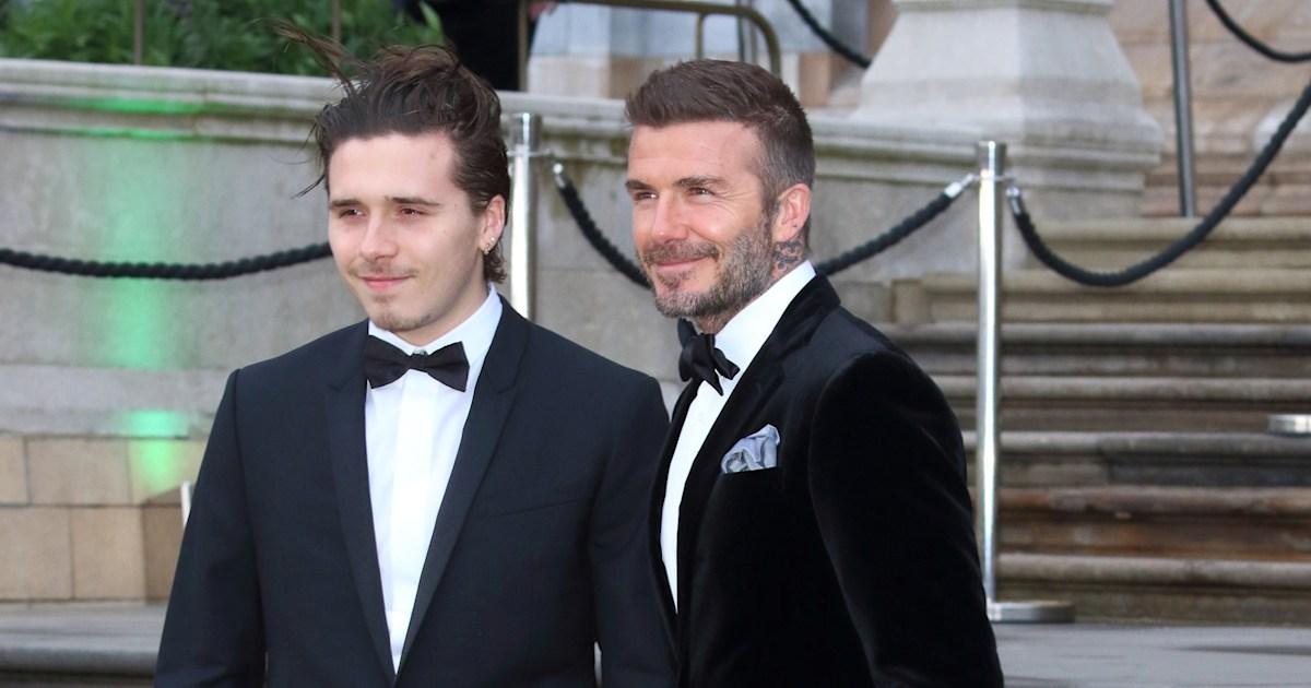 David Beckham congratulates oldest son, Brooklyn, 21, on engagement with heartfelt message