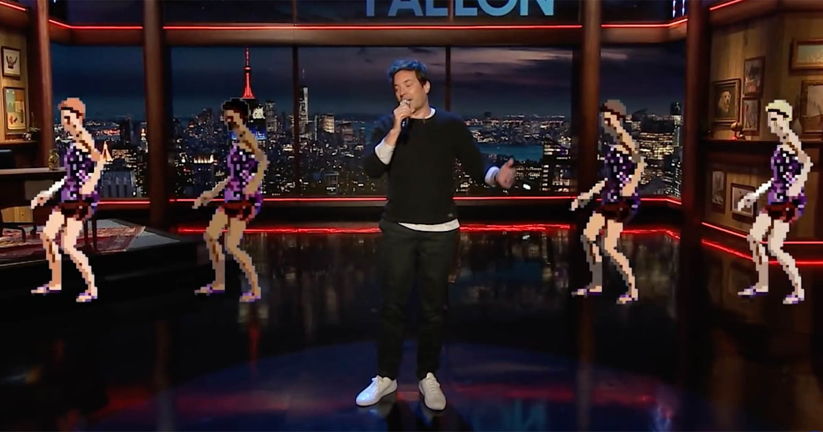Watch Jimmy Fallon lose it as his new 'Normal' quarantine song goes awry