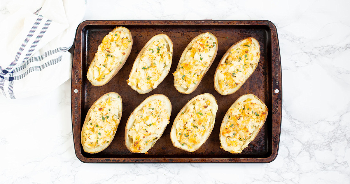 How to make the best twice-baked potatoes