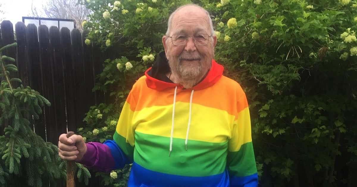 90-year-old grandfather comes out as gay, searches for long-lost love