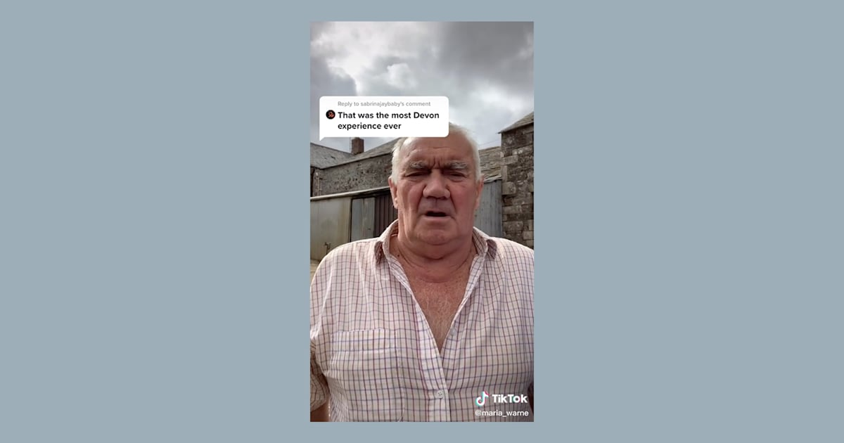 English grandfather goes viral because no one can understand his thick accent