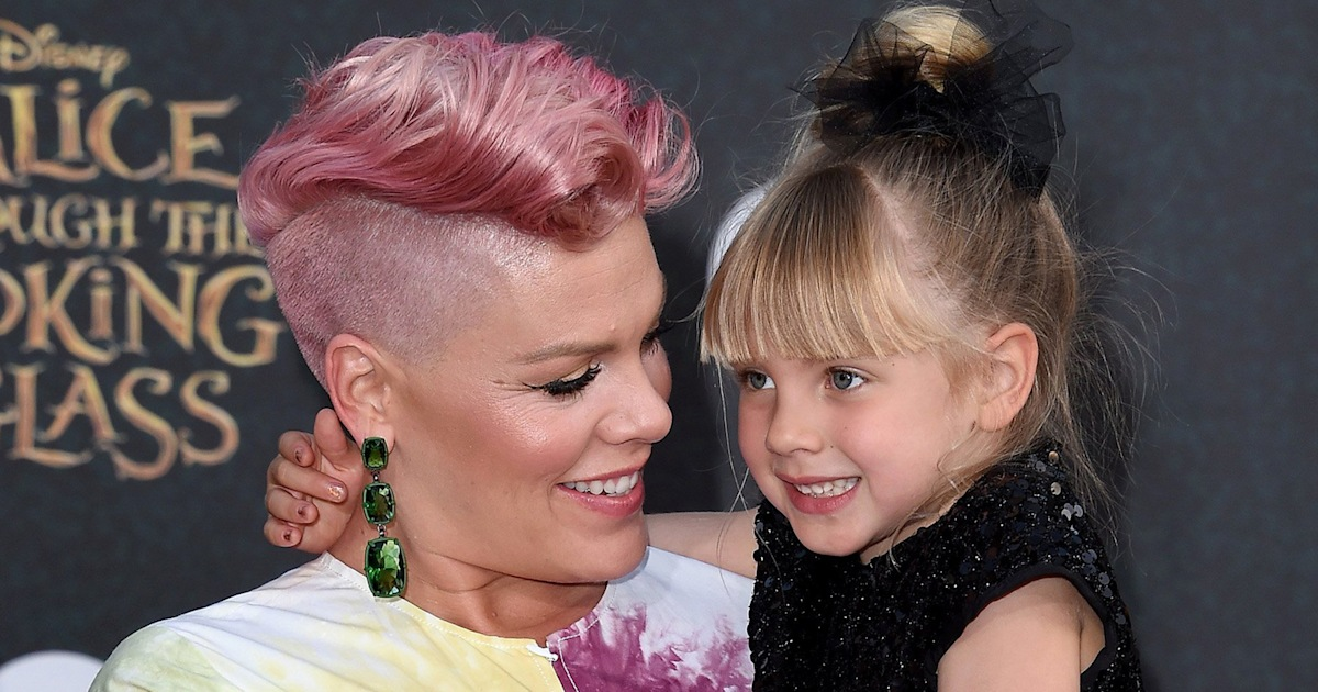 Pink shares new selfie with look-alike daughter: 'My baby girl'