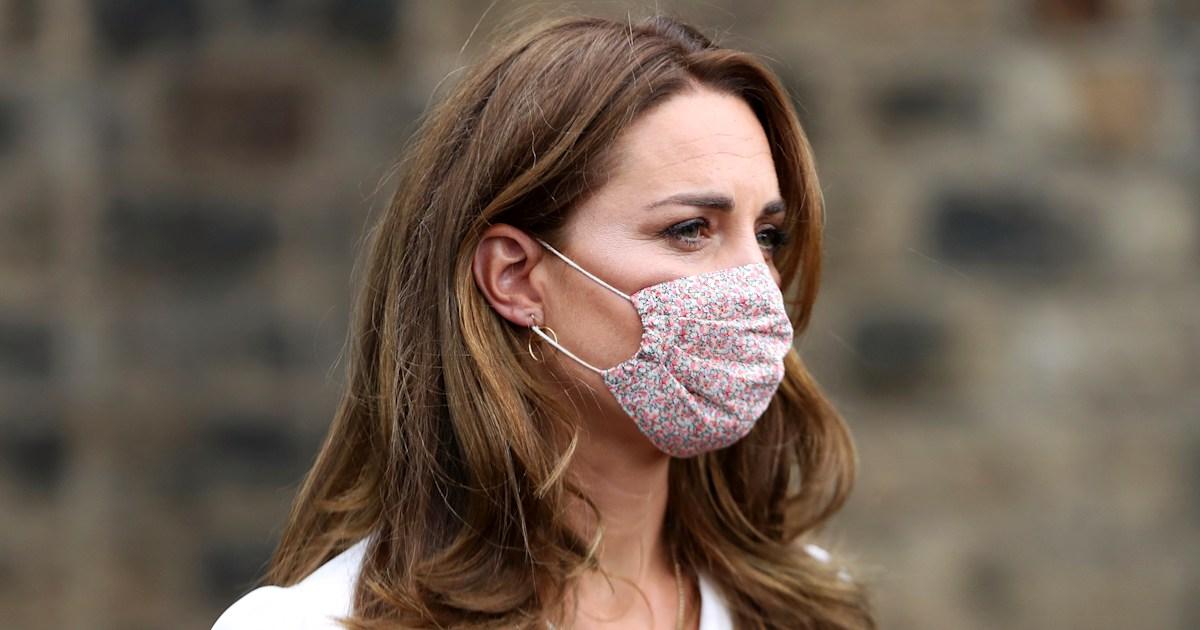Kate Middleton just made floral face masks more popular than ever