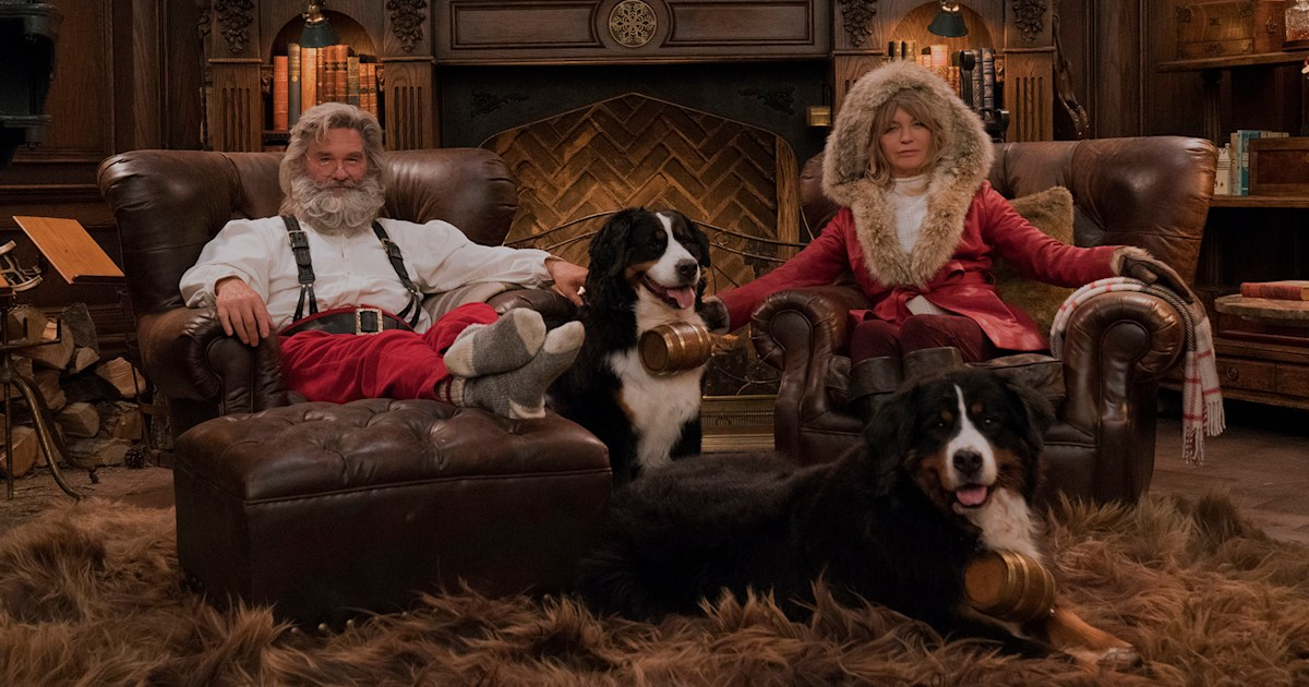See Goldie Hawn, Kurt Russell as Santa and Mrs. Claus in 'Christmas Chronicles 2' trailer