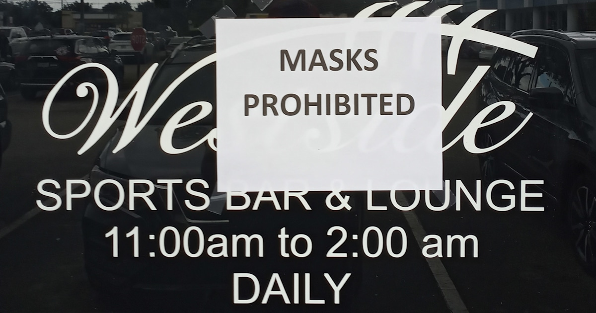 Florida sports bar will ask customers to leave if they wear a mask