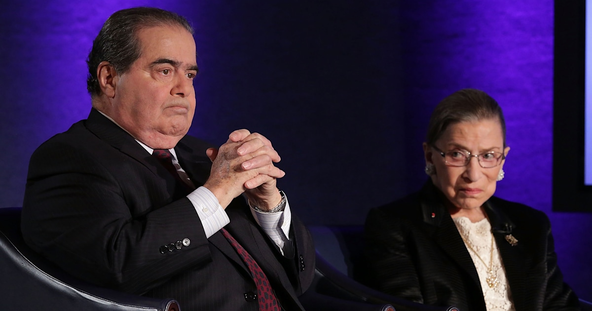 Scalia and RBG's friendship: Scalia's son shares touching anecdotes
