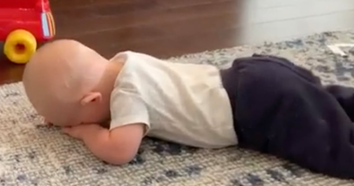 Dylan Dreyer's son Ollie learning to crawl is all of us in 2020