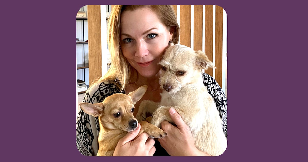 Jennie Garth rescued a dog named Fauci during COVID-19. Now, she has this message