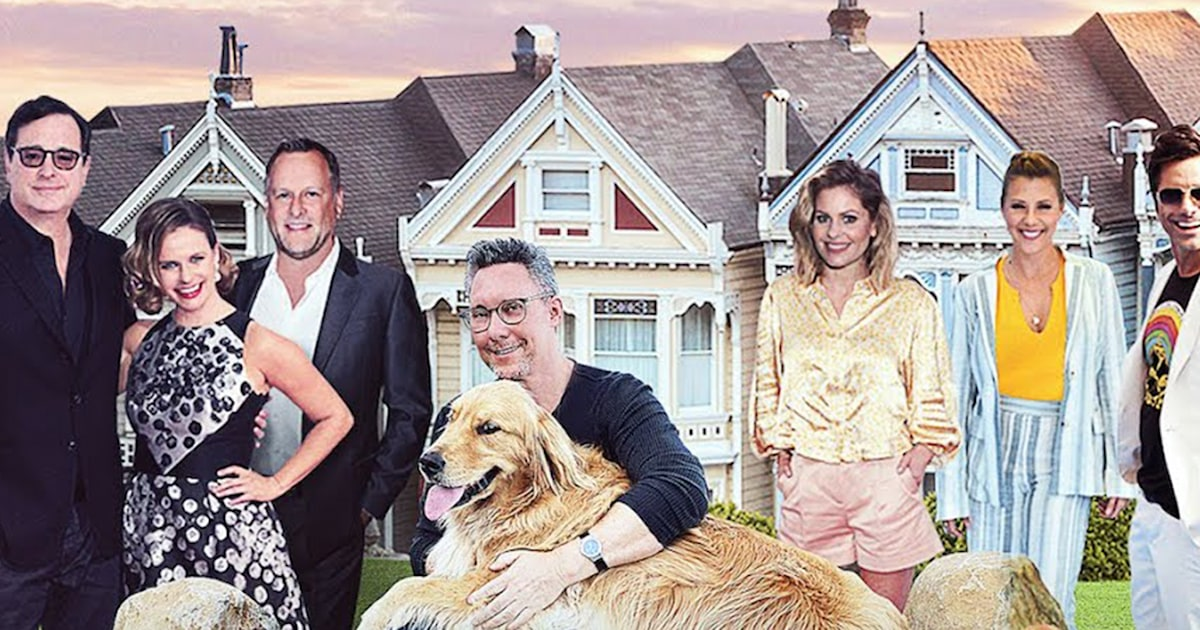 'Full House' cast sings about golden retrievers in music video for National Dog Week