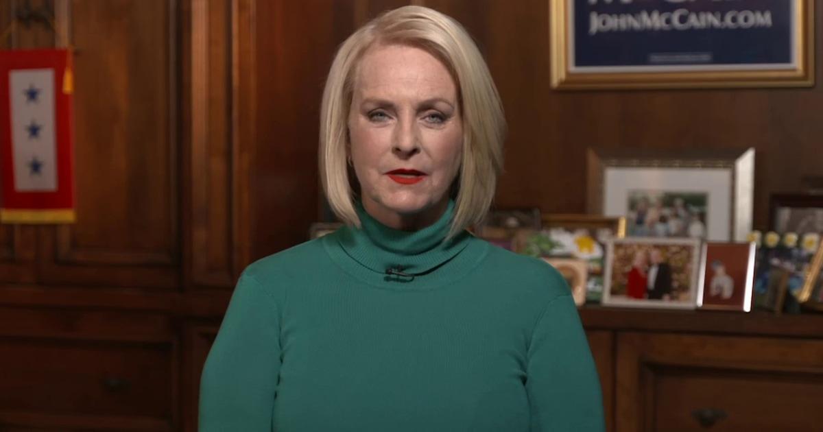 Cindy McCain on Biden endorsement: 'Joe Biden is the better man'