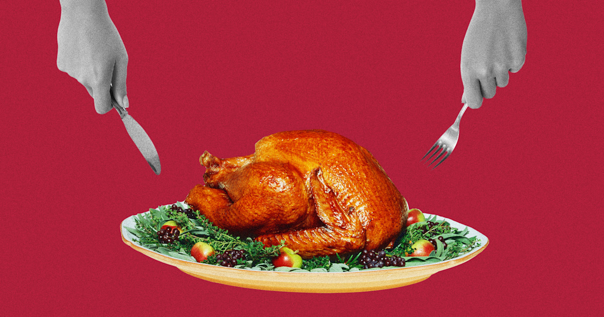 This is the easiest and fastest way to carve a turkey
