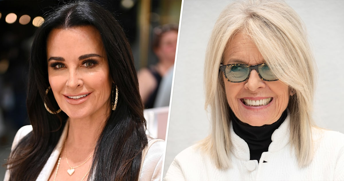 Kyle Richards claims stolen family ring is on Diane Keaton's Instagram