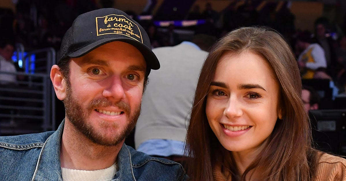 Lily Collins engaged to Charlie McDowell — see the pics