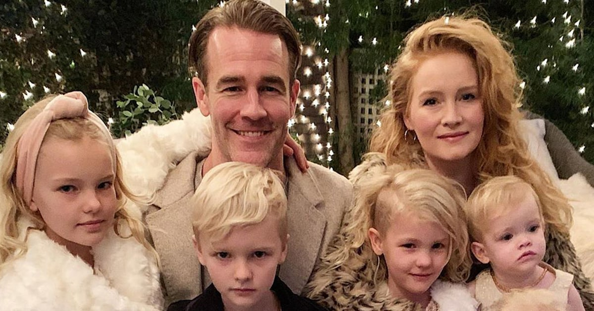 James Van Der Beek and his family are on the move to Texas — see the pics