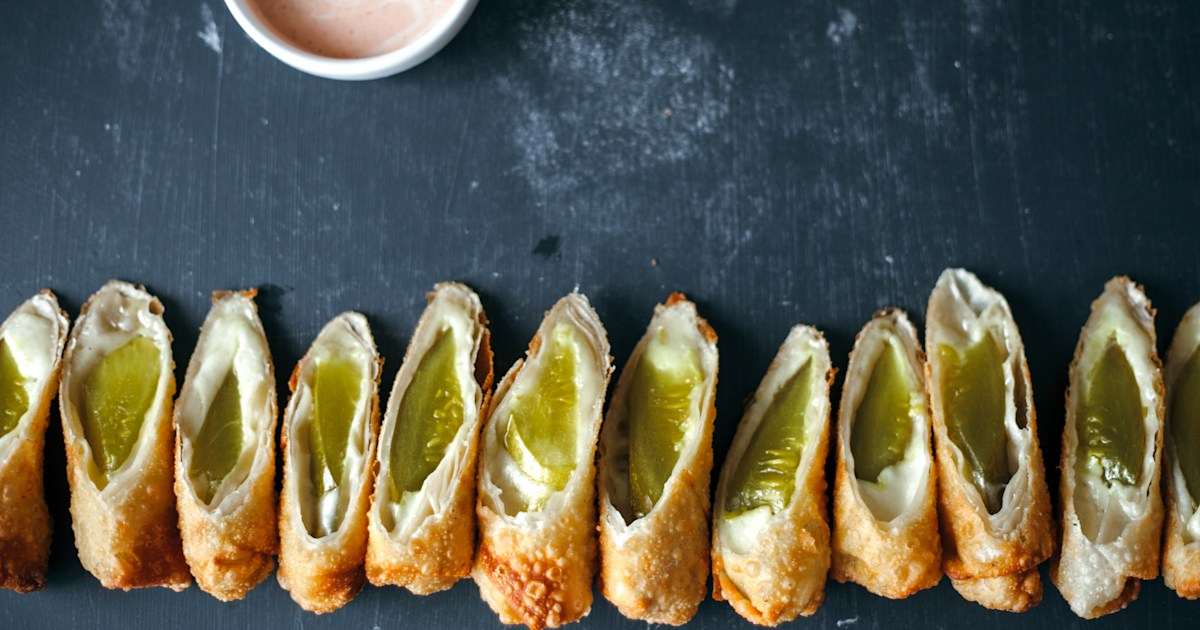 Are pickle wraps on your Thanksgiving table?