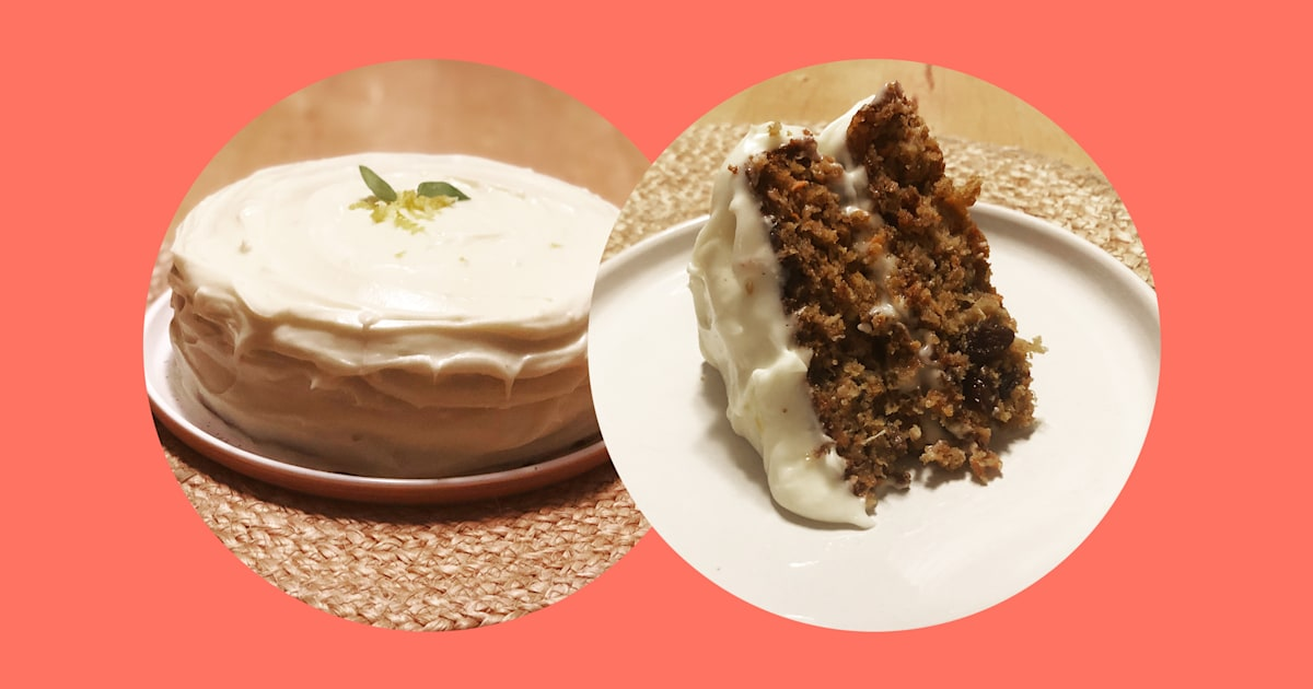We made the Reddit-famous 'Divorce Carrot Cake' — here's how it went
