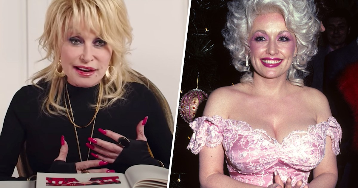 Dolly Parton looks back at her most iconic outfits of the past 45 years