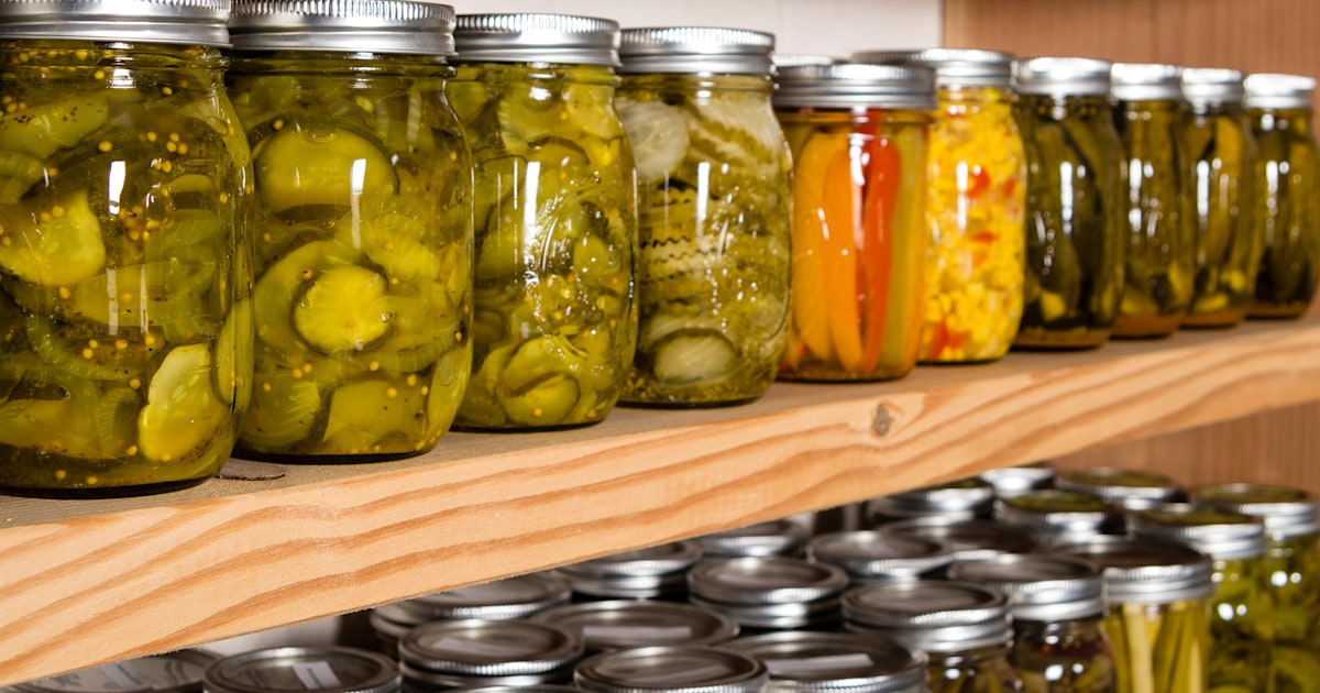 There's a Mason jar shortage right now — here's how to pickle without them