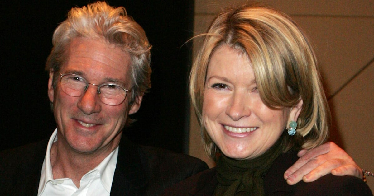 Richard Gere called neighbor Martha Stewart for cake after seeing her bake it on TODAY