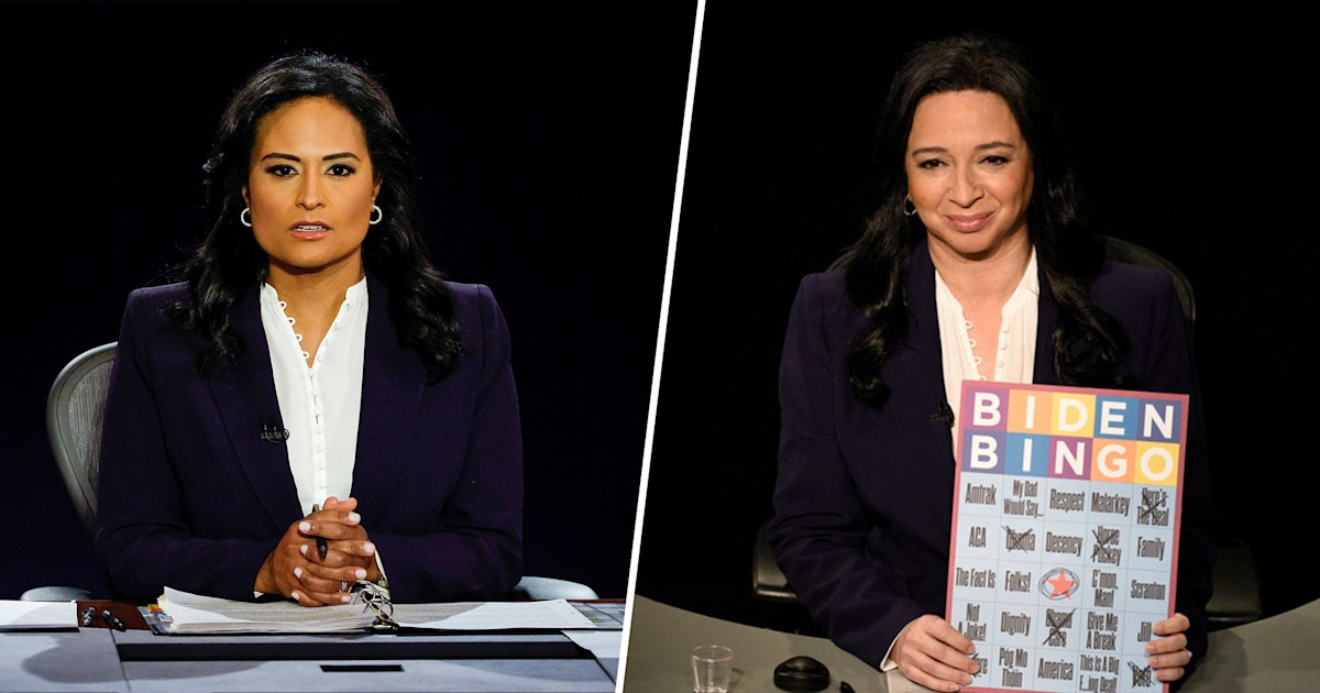 Kristen Welker on being portrayed by Maya Rudolph on 'SNL': 'Completely surreal'