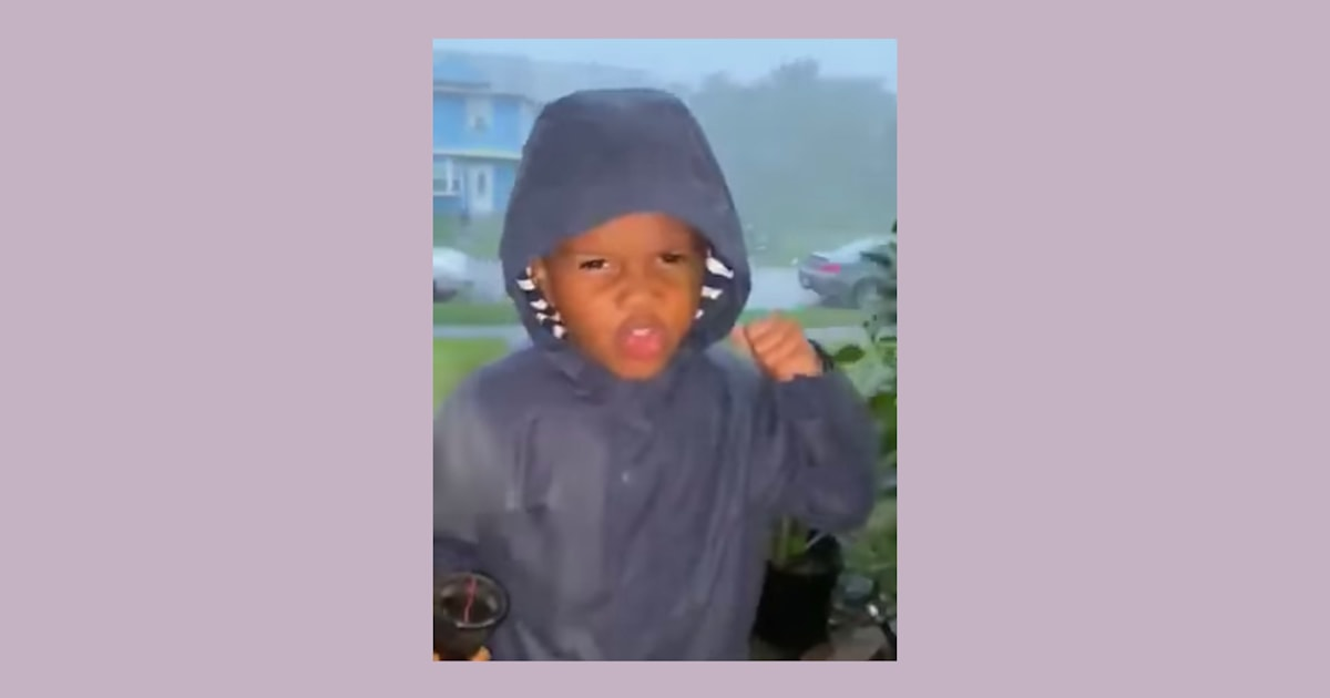 Boy does incredible (and adorable) live weather 'report' — and even Al Roker approves