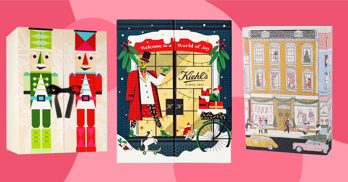 Countdown to the holidays with these 13 beauty Advent calendars