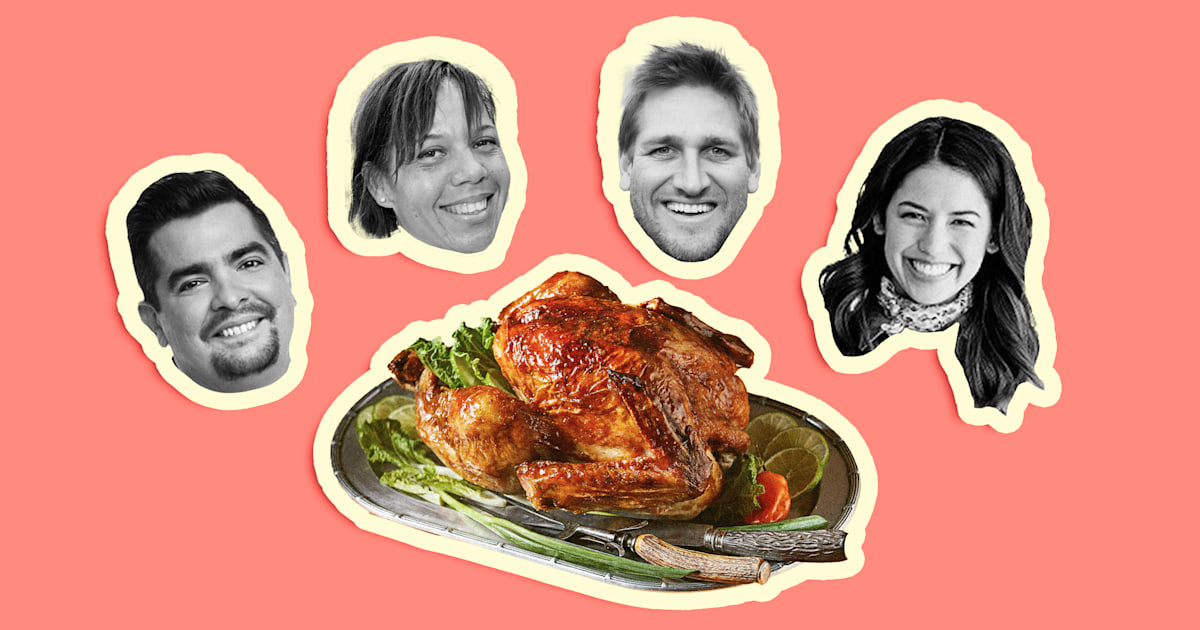 Celeb chefs share their plans, tips and recipes for an unconventional Thanksgiving