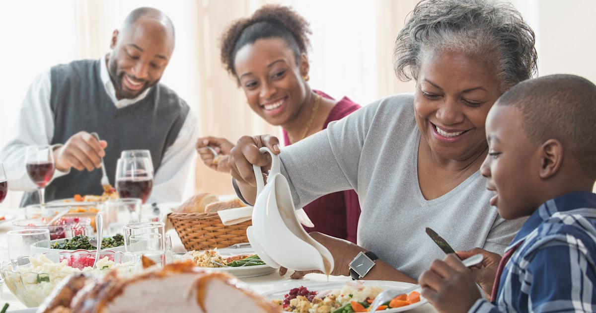 This map shows Americans' favorite Thanksgiving sides and we have questions