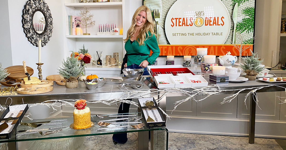 Steals and Deals: Save up to 75% on holiday entertaining essentials
