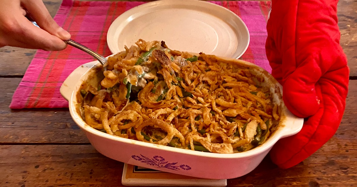 2 simple ways to upgrade classic green bean casserole