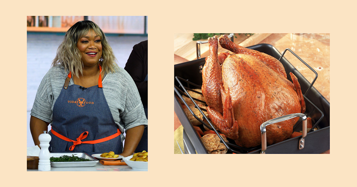 Why not grill the turkey this year? Sunny Anderson shares her top turkey tips