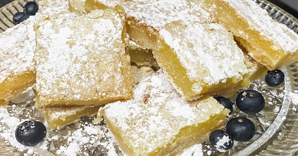 We made the Reddit-famous lemon bars — and completely understand the hype