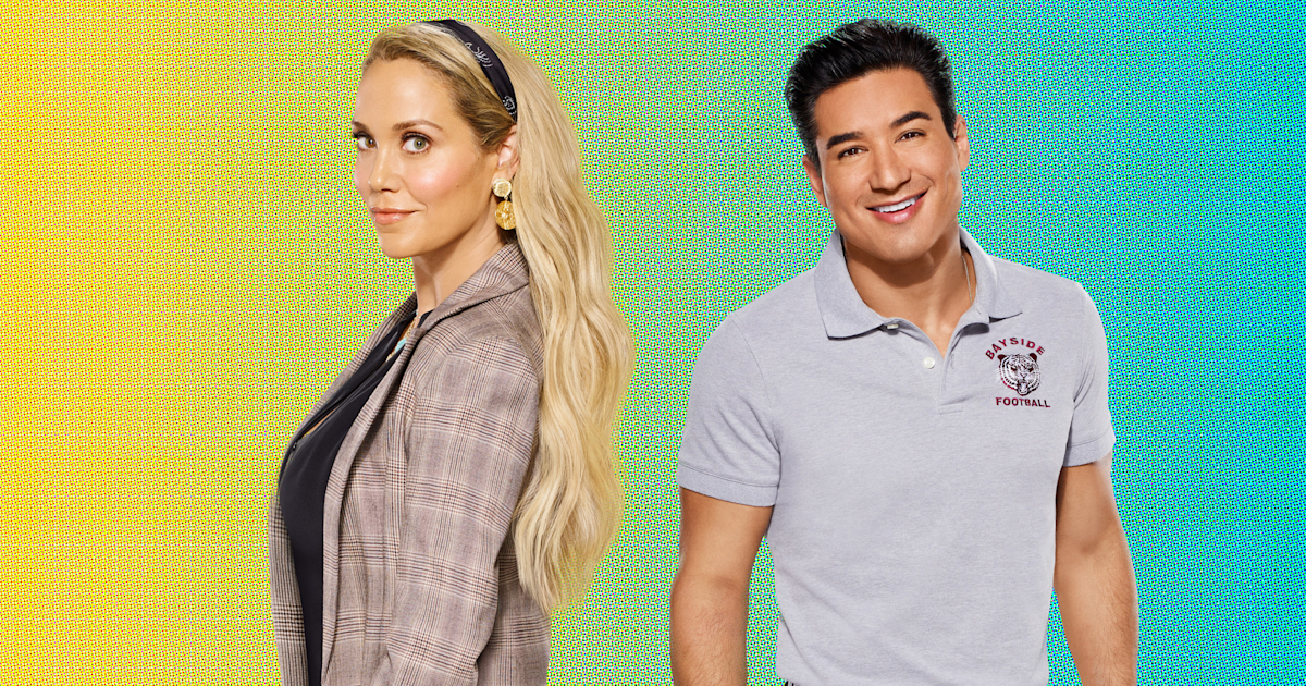 Mario Lopez and Elizabeth Berkley say new 'Saved by the Bell' brings 'joy'