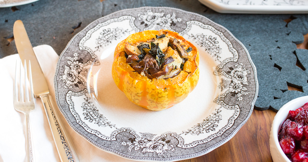 Who needs turkey? 15 vegetarian and vegan Thanksgiving recipes