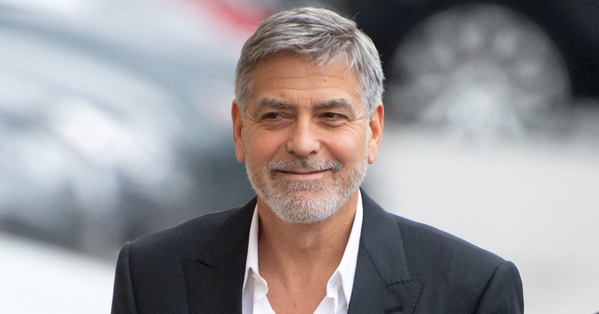 George Clooney reveals he's been cutting his hair with a Flowbee for years