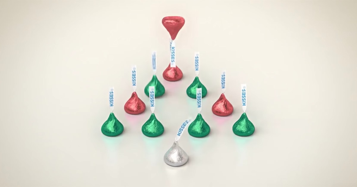 Hershey's Kisses' classic Christmas bells ad got a makeover — and people are outraged